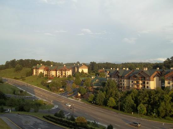 Wyndham Smoky Mountains: A view of condos across the street