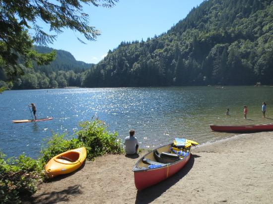 Alice Lake Provincial Park: Alice Lake