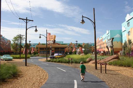 Disney's Art of Animation Resort: Radiator Springs, so precious!