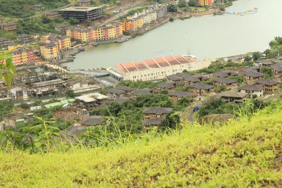 JenJon Holiday Homes Lavasa: An areal view of Lavasa