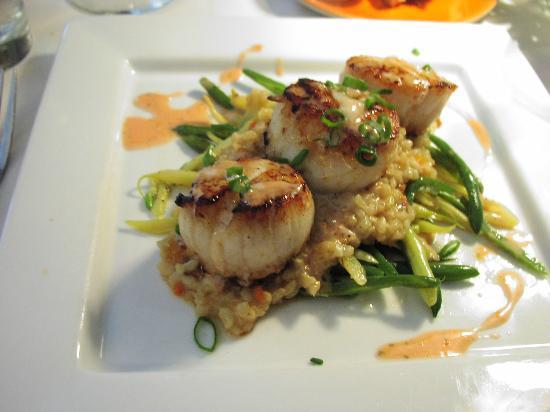 The Oxford House Inn & Restaurant: Seared Sea Scallops