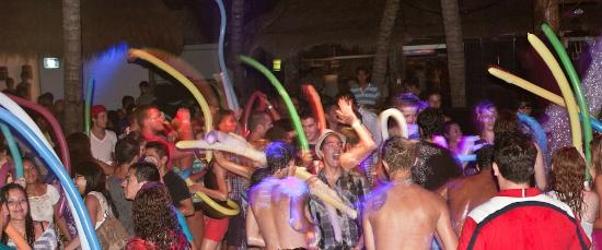 Party Playa: enjoying our special foam party!