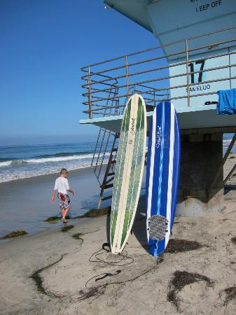 San Elijo State Beach Campground: close beach