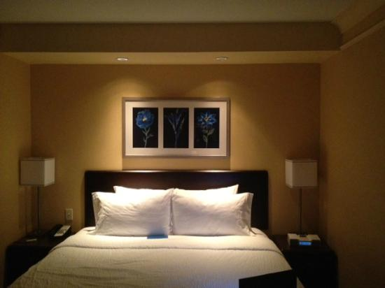 SpringHill Suites Fresno: Bedroom Section of Suite
