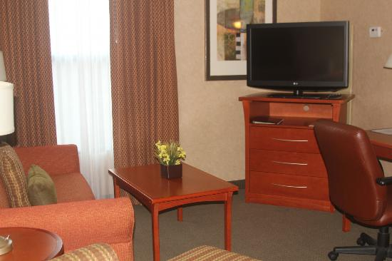 Homewood Suites by Hilton Lincolnshire: Living area