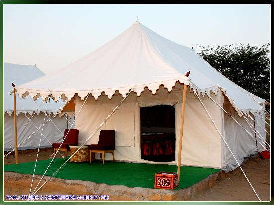 Mehar Adventure Safari C& Swiss tent. & Swiss tent. - Picture of Mehar Adventure Safari Camp Sam ...