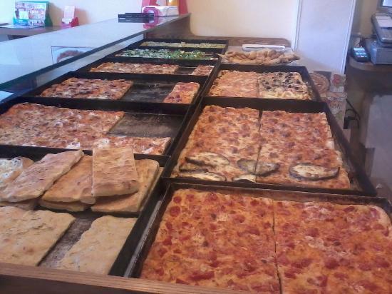Vari tipi di pizza