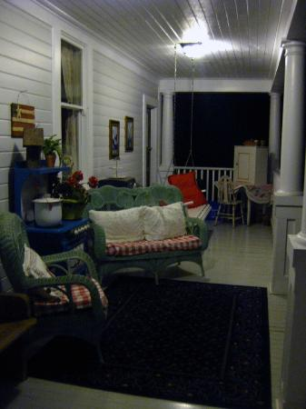 Sandes of Time Bed & Breakfast: One of the three porches