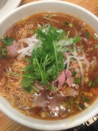 Republic : Ginormous portion of Beef noodle broth