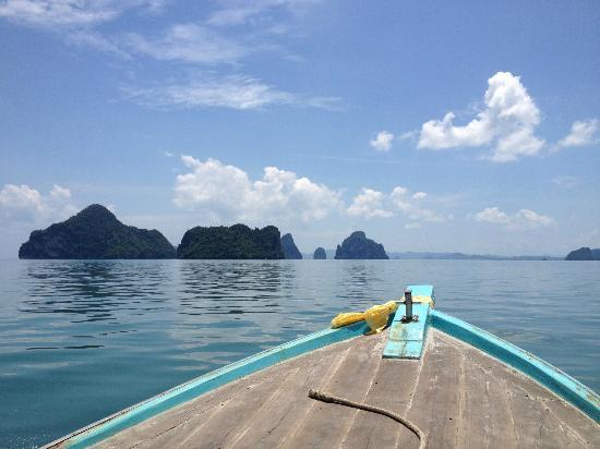 Heimat Gardens: Boat to Koh Yao Yai.
