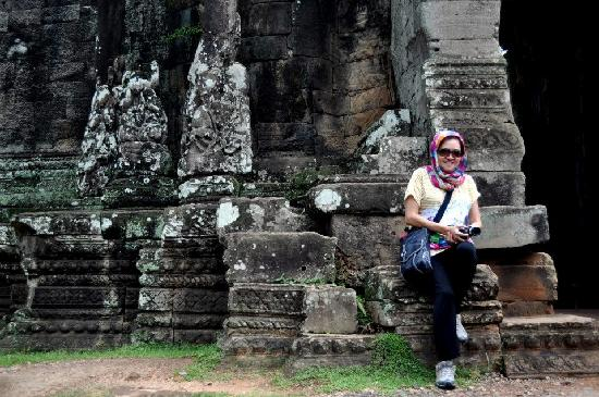 Angkor Spirit Palace: at Angkor Temple
