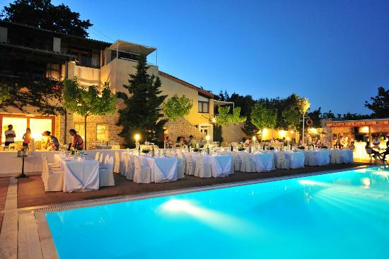Your special wedding day picture of atrium hotel agia for Best hotels in skiathos