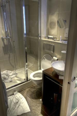 Holiday Inn Paris Elysées : Twin bed hotel room - Bathroom