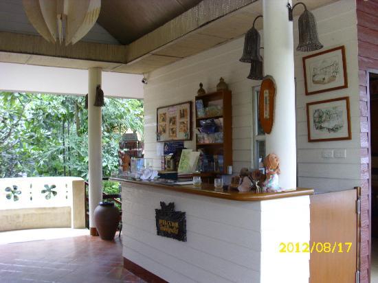Baan Duangkaew Resort: Rezeption