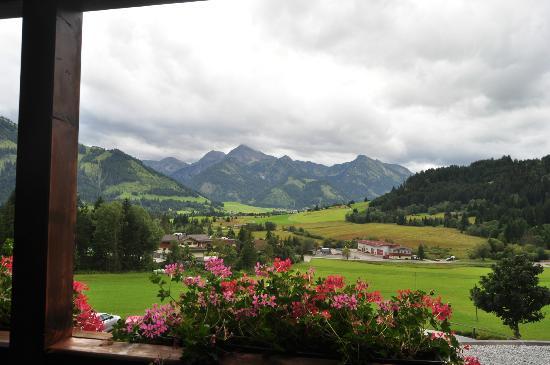 Bergblick Ferienhotel: vue de la chambre