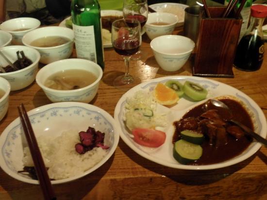 Akadake Kosen: 食事