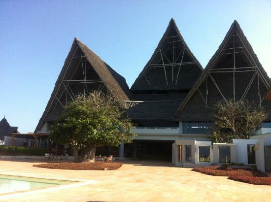 Essque Zalu Zanzibar: Le toit du bâtiment principal