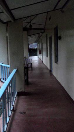 Lawns Hotel: Corridor