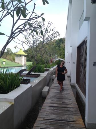 The Quarter Resort Phuket: me-outside our room