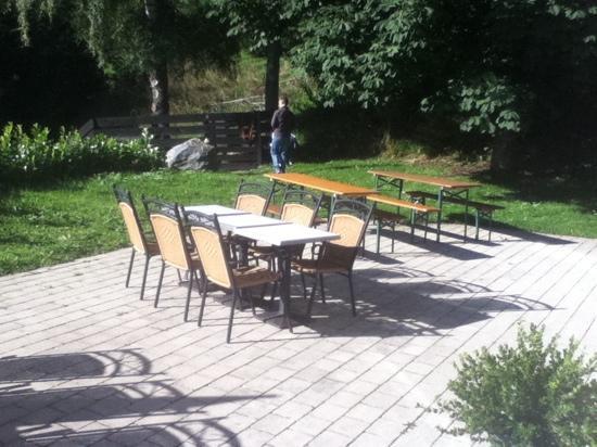 Hotel Witt: giardino esterno
