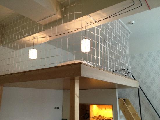 room 328 loft picture of michelberger hotel berlin tripadvisor. Black Bedroom Furniture Sets. Home Design Ideas