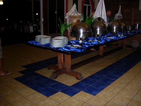 Diamonds Dream of Africa : le buffet