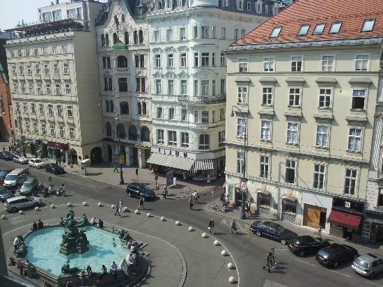 Austria Trend Hotel Europa Wien: 部屋から眺め
