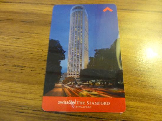 Swissotel The Stamford Singapore: キー