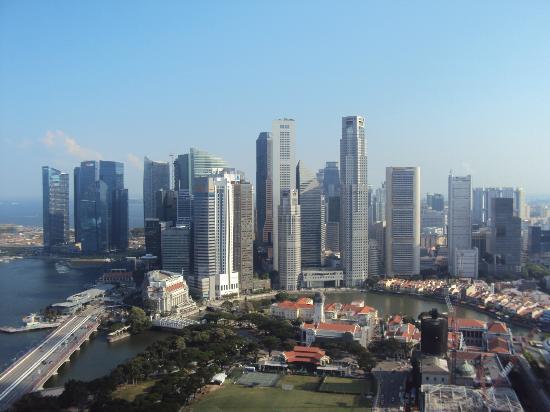 Swissotel The Stamford Singapore: シンガポールリバー方面