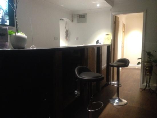 The Rivermill: nice clean reception and toilets