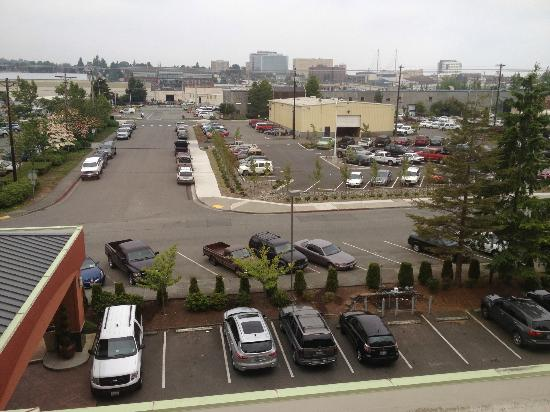 Holiday Inn Downtown Everett: Veiw from room