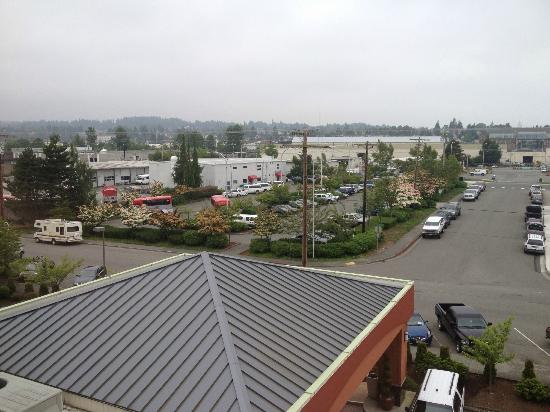 Holiday Inn Downtown Everett: View from room