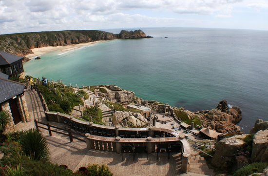View Of The Minack Theatre And Beaches Picture Of Telegraph Museum Porthcurno Porthcurno