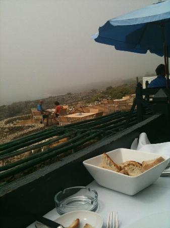 Monte Mar : vue de la terrasse
