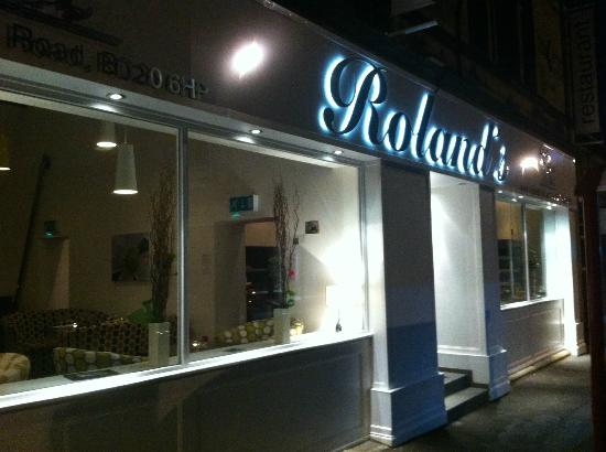 rolands restaurant front picture of rolands keighley tripadvisor