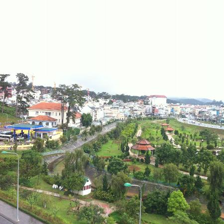 Dalat Plaza Hotel : View from room