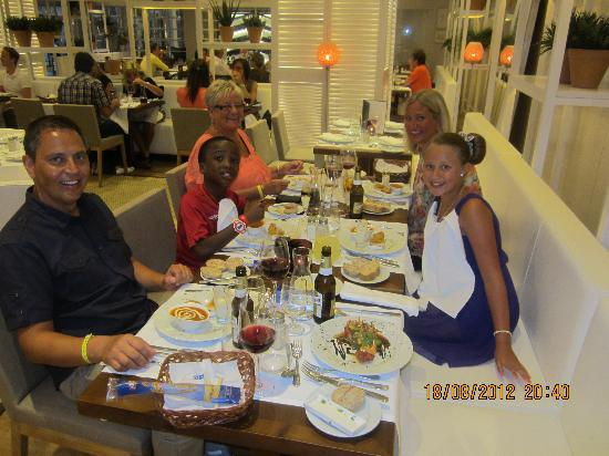 H10 Conquistador: eating in the hotels Italian restaurant