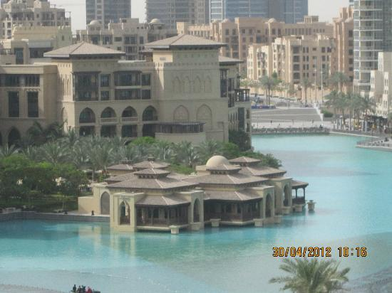 Another view from my room picture of armani hotel dubai for Tripadvisor dubai hotels