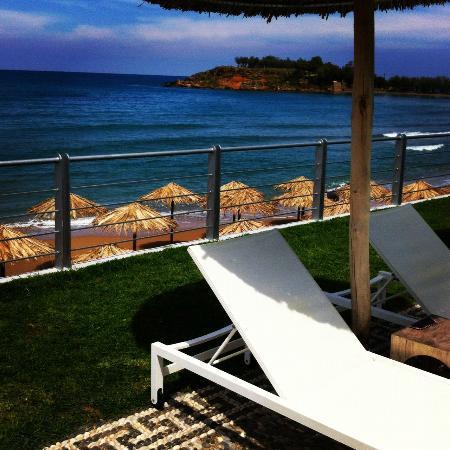 Ammos Hotel: pool-beach 