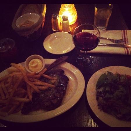 Le Bateau Ivre: ribeye steak