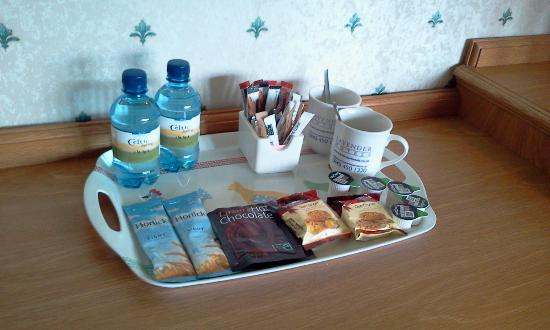 BEST WESTERN Higher Trapp Country House Hotel: Courtesy tray - well stocked