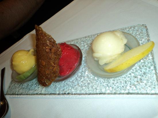 Hostellerie La Charrue: Dessert