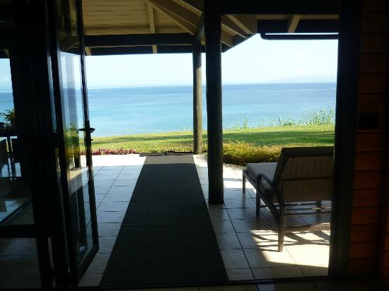 Taveuni Island Resort & Spa: Breath taking views from our Bure