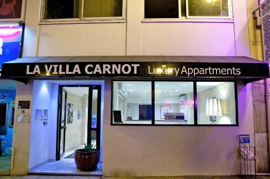 Villa Carnot: La façade de l'hôtel