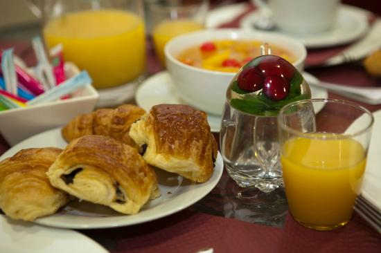 Villa Carnot: Le petit déjeuner