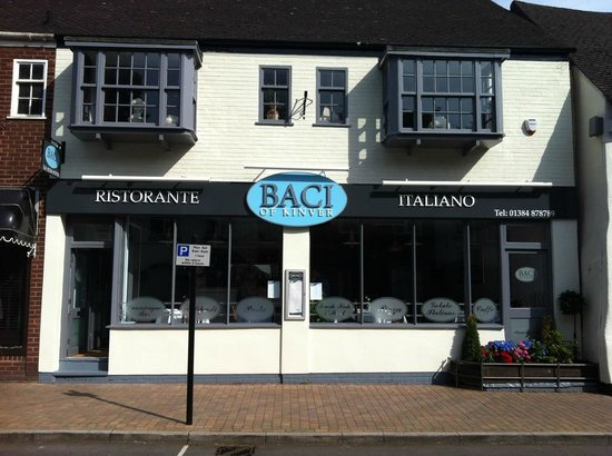 Kinver, UK: baci frontage