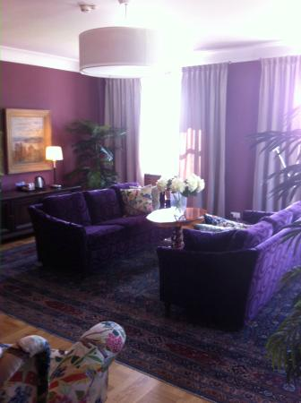 Karlskoga, Sweden: Sitting room in President Suite