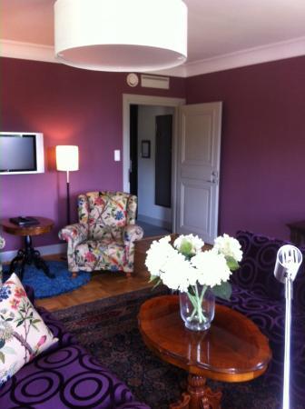 Bofors Hotel: Sitting room in President Suite