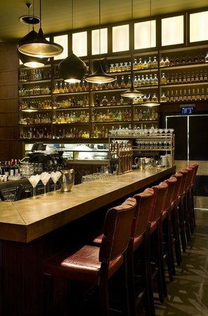 Social Club - Modern Bistro : Bar area