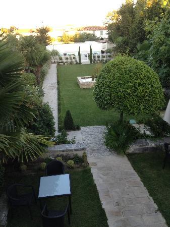 La Villa Clarisse : Vue de la suite